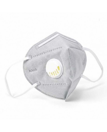 Face Mask With Breathing Valve N95/ PM 2.5/ FFP2