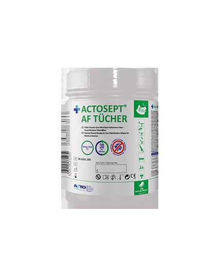 Actosept AF Antibacterial Wipes