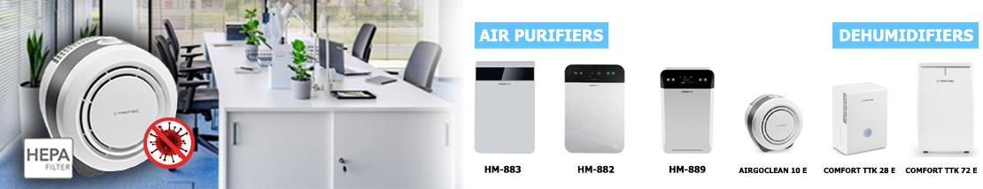 AirPurifier & Dehumidifier Banner